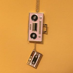 NWT Kate Spade boombox necklace